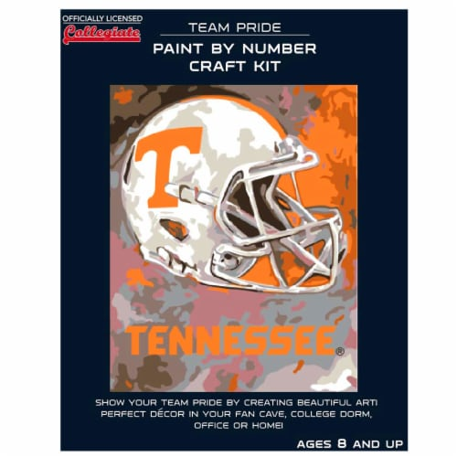 Tennessee Volunteers Team Pride Paint by Number Craft Kit Perspective: front