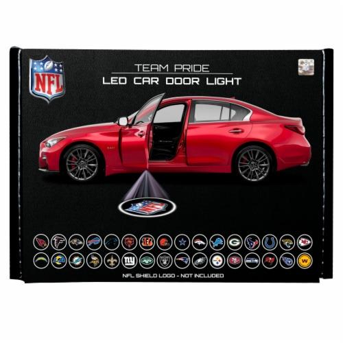 NFL Tampa Bay Buccaneers Team Pride LED Car Door Light Perspective: front