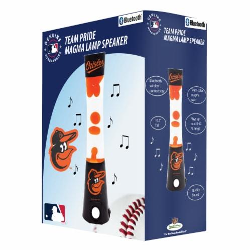 Baltimore Orioles Team Pride Magma Lamp Speaker Perspective: front