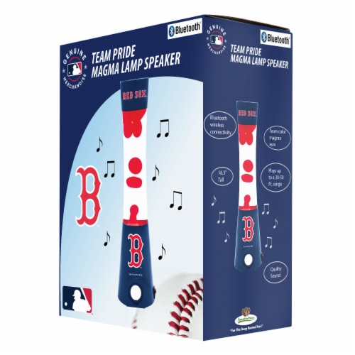 Boston Red Sox Team Pride Magma Lamp Speaker Perspective: front
