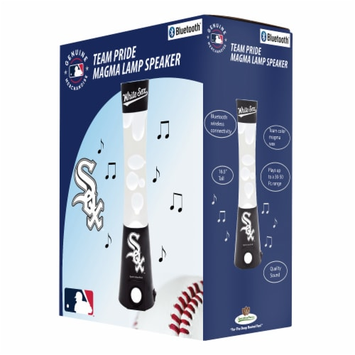 Chicago White Sox Team Pride Magma Lamp Speaker Perspective: front