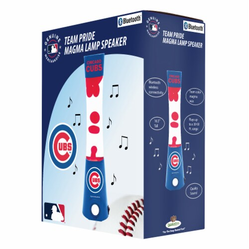 Chicago Cubs Team Pride Magma Lamp Speaker Perspective: front