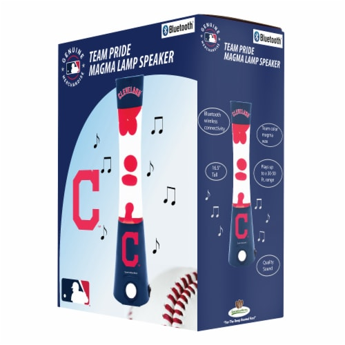 Cleveland Indians Team Pride Magma Lamp Speaker Perspective: front