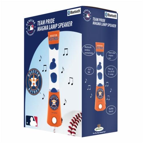 Houston Astros Team Pride Magma Lamp Speaker Perspective: front