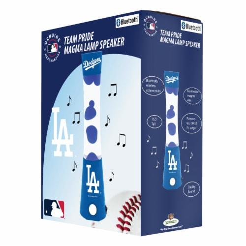 Los Angeles Dodgers Team Pride Magma Lamp Speaker Perspective: front