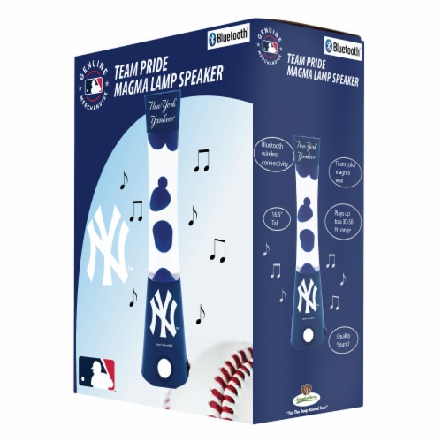 New York Yankees Team Pride Magma Lamp Speaker Perspective: front