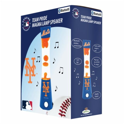 New York Mets Team Pride Magma Lamp Speaker Perspective: front
