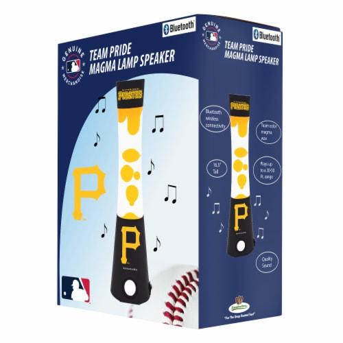 Pittsburgh Pirates Team Pride Magma Lamp Speaker Perspective: front