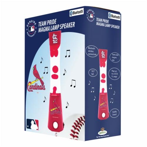 St Louis Cardinals Team Pride Magma Lamp Speaker Perspective: front