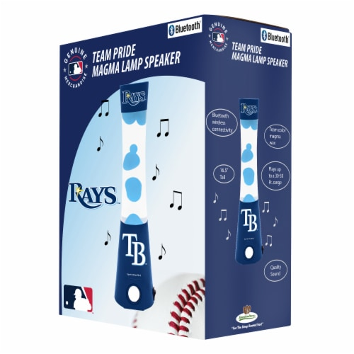 Tampa Bay Rays Team Pride Magma Lamp Speaker Perspective: front