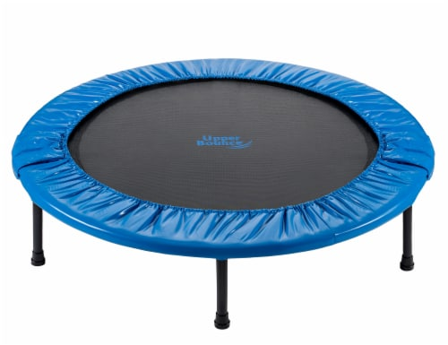 Upper Bounce Mini Foldable Rebounder Fitness Trampoline Perspective: front