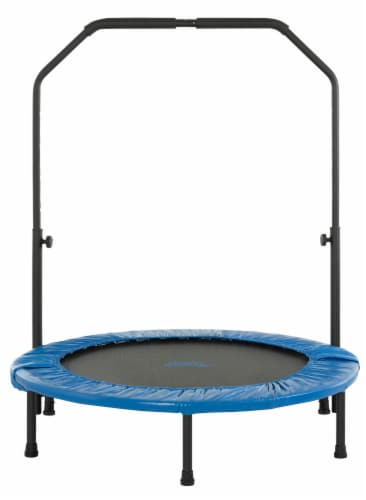 Upper Bounce Mini Foldable Trampoline Perspective: front