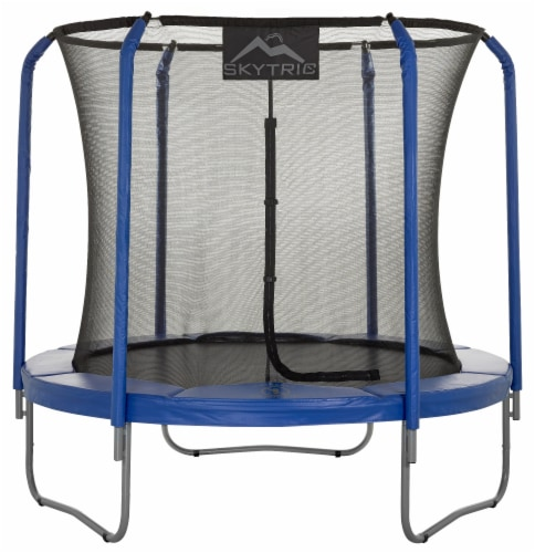 Upper Bounce Skytric Trampoline with Top Ring Enclosure System Perspective: front