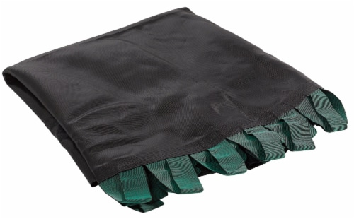Replacement Jumping Mat with Bands, Fits 13 FT Round Flat-Tube Trampoline Frame Perspective: front
