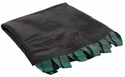 Replacement Jumping Mat with Bands, Fits 14 FT Round Flat-Tube Trampoline Frame Perspective: front