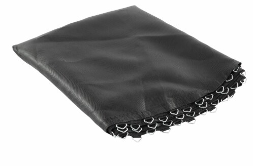 """Replacement Jumping Mat, Fits 8 ft Round Trampoline Frame with 56 V-Hooks,5.5"""" springs Perspective: front"""