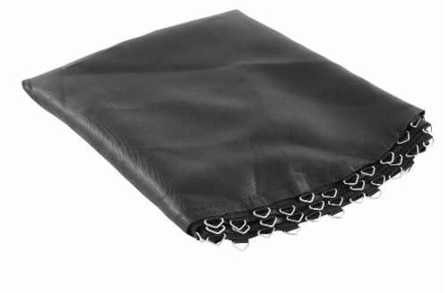 """Replacement Jumping Mat, Fits 15 ft Round Trampoline Frame with 96 V-Hooks,7"""" springs Perspective: front"""