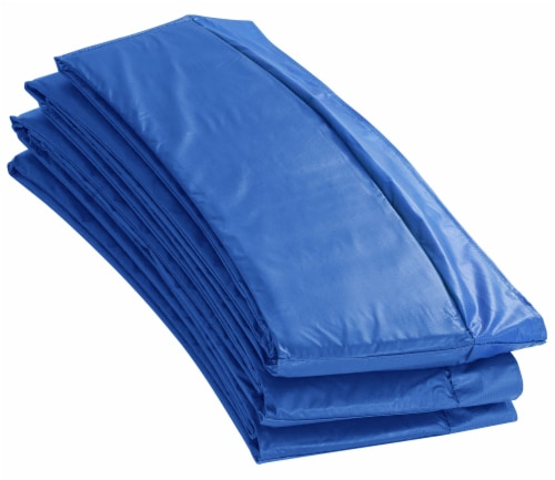 Super Spring Cover - Safety Pad, Fits 15 FT Round Trampoline Frame - Blue Perspective: front