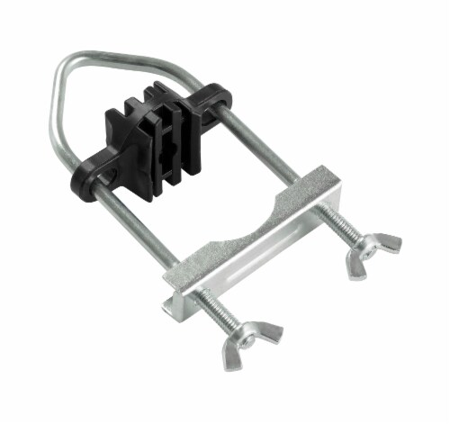 """Trampoline Enclosure Pole Connecter, Fits Poles  up-to 1.5"""" Diameter or 1.75"""" Leg - 16 Perspective: front"""