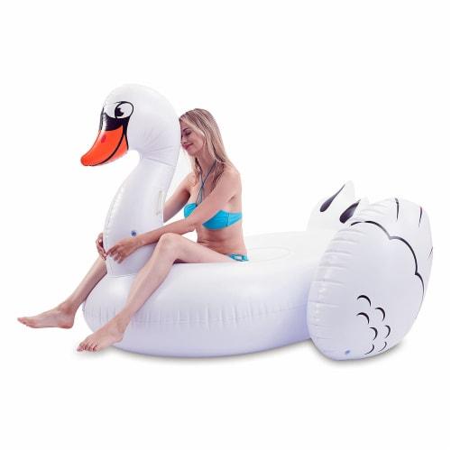 JOYIN Giant Swan Raft Perspective: front