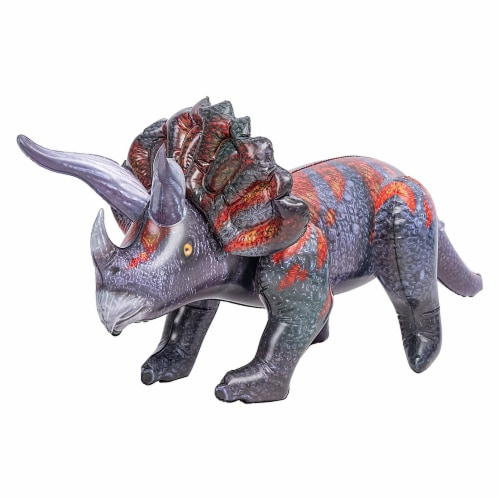 JOYIN Inflatable Triceratops Perspective: front