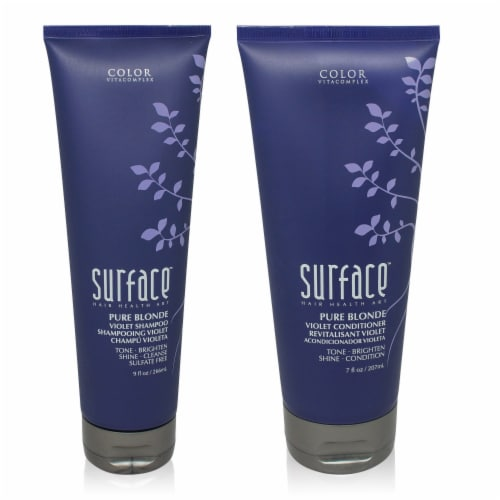 Surface Pure Blonde Violet Shampoo & Conditioner Combo Pack Perspective: front