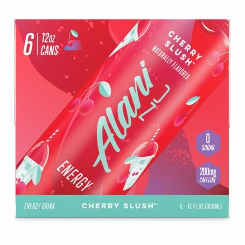 Alani Nu Cherry Slush Energy Drink Perspective: front