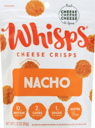 Whisps Nacho Cheese Crisps Perspective: front