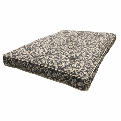AJD Home 8  Twin Double Foam Youth Mattress in Camouflage Perspective: front