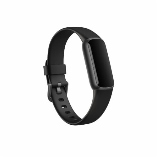 Fitbit Luxe Fitness Tracker with Classic Band - Black Perspective: front