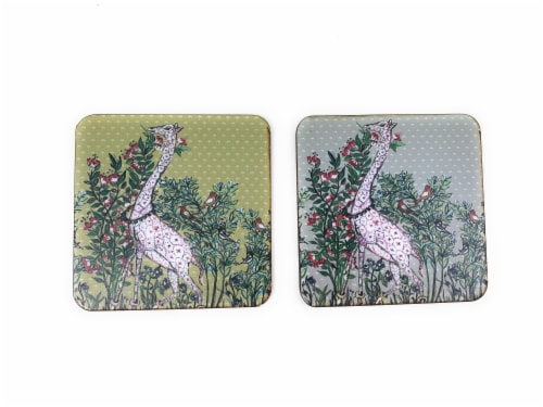 Vibhsa Designer Tea Coasters Perspective: front