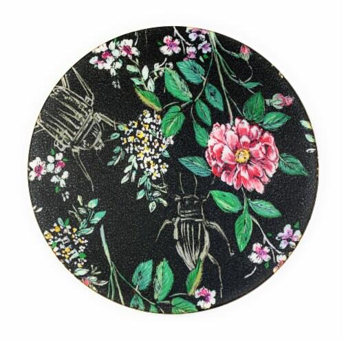 Vibhsa Designer Wild Bug Tea Coasters Perspective: front