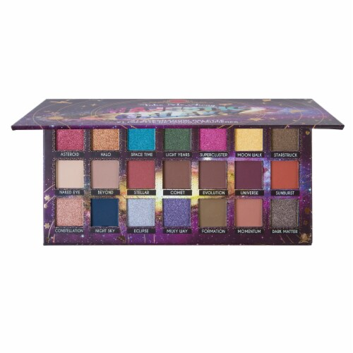 J.Cat Beauty Take Me Away Majestic Galaxy Eyeshadow Palette Perspective: front
