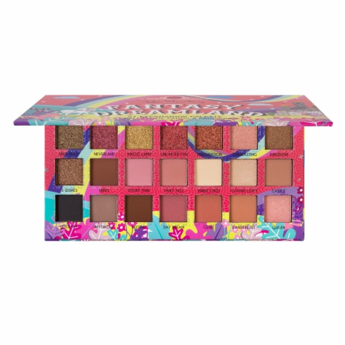 J.Cat Beauty Take Me Away Fantasy Dreamland Eyeshadow Palette Perspective: front