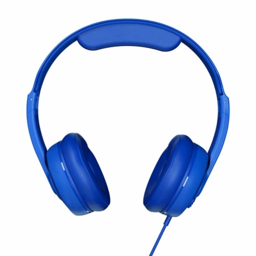 Skullcandy Cassette Wireless On Ear Headphones - Blue Perspective: front