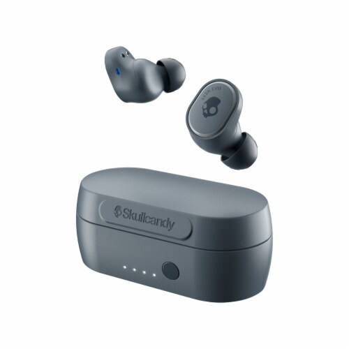 Skullcandy Sesh Evo Wireless Earbuds - Gray Perspective: front