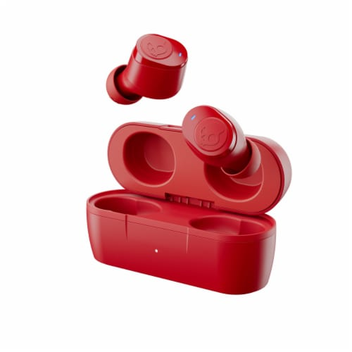 Skullcandy Jib True Wireless Earbuds - Red Perspective: front