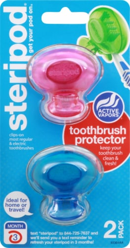 Steripod Toothbrush Protector Perspective: front