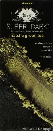 Vosges Haut-Chocolat Super Dark Matcha Green Tea Perspective: front