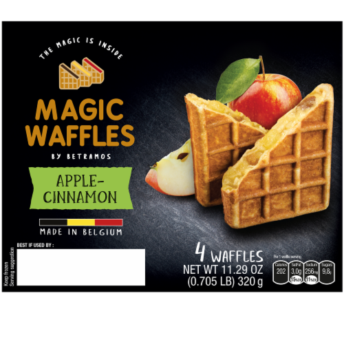 Betramos Apple Cinnamon Magic Waffle Perspective: front
