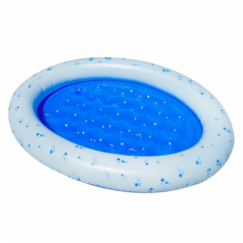 PoolCandy Small Dog Inflatable Pet Float Perspective: front