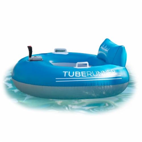 PoolCandy Motorized Tube Runner Pool Tube Perspective: front