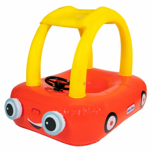 PoolCandy Little Tikes Cozy Coupe Inflatable Raft Perspective: front