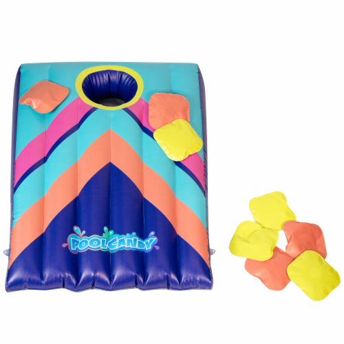 PoolCandy Inflatable Cornhole Set Perspective: front