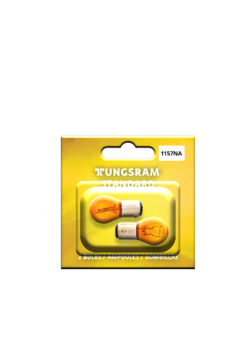 Tungsram 1157NA/BP2 Auto Bulb 2 Pack Perspective: front