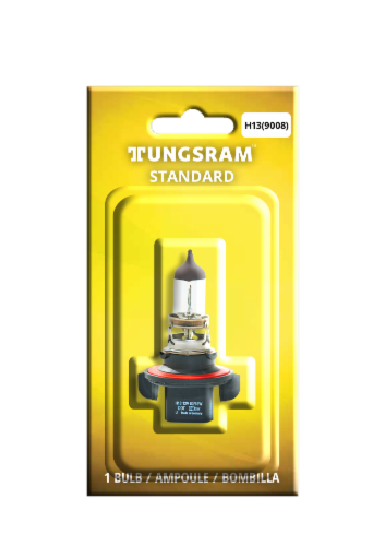 Tungsram H13/BP1 Auto Bulb Perspective: front