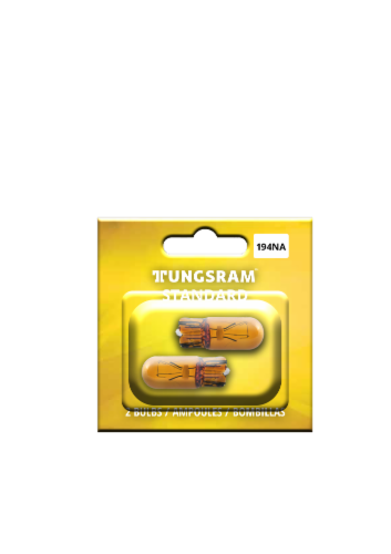 Tungsram 194NA/BP2 Auto Bulb Perspective: front