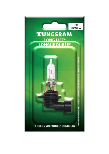 Tungsram 9005LL/BP Auto Bulb Perspective: front