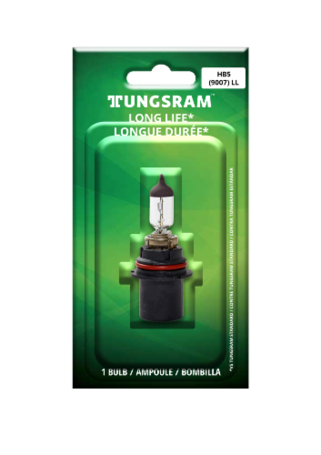 Tungsram 9007LL/BP Auto Bulb Perspective: front