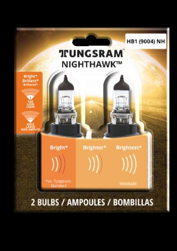 Tungsram NightHawk 9004NH/BP2 Automotive Light Bulbs Perspective: front